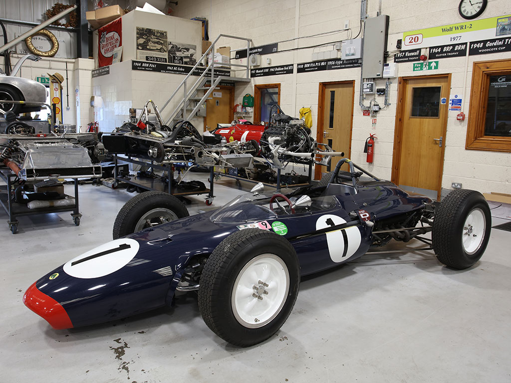 Prestwold hall single seater