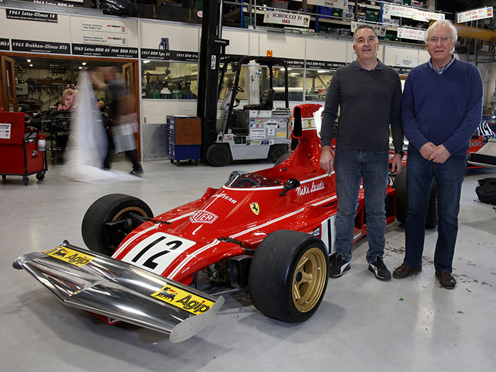 Father And Son - Keeping BRM and F1 History Alive